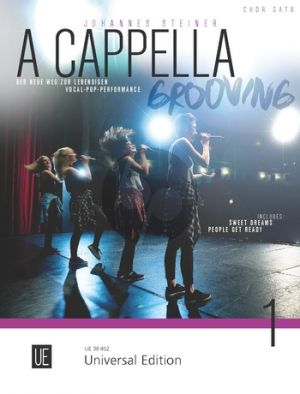Steiner A Cappella-Grooving for mixed choir (SATB)