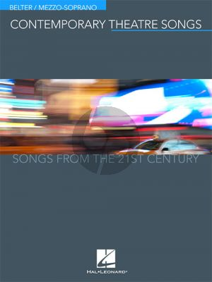Contemporary Theatre Songs – Belter/Mezzo-Soprano