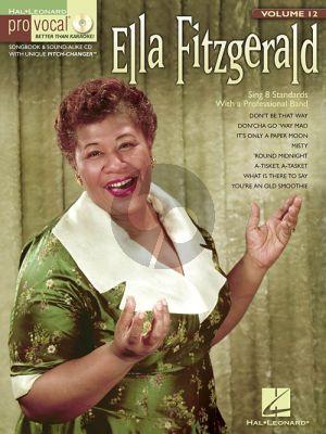 Ella Fitzgerald 8 Standards (Pro Vocal Women's Edition Vol.12)