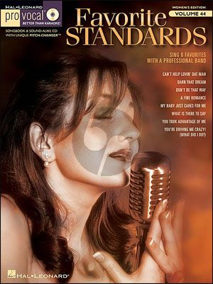 Favorite Standards (Pro Vocal Women's Edition Vol.44)