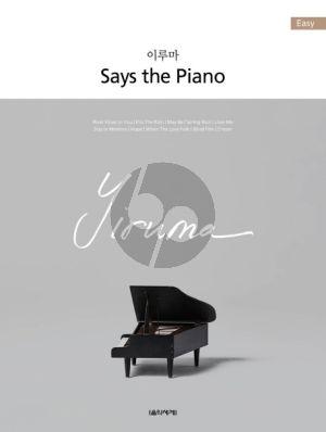 Yiruma - Says the Piano Easy Piano