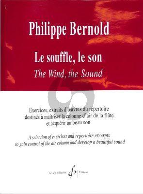 Bernold Le Souffle, le son (Exercises) Flute