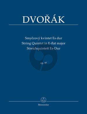Dvorak Quintet E-flat major Op.97 2 Vi.-2 Va.-Vc Study Score
