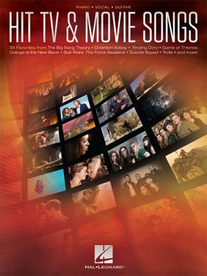 Hit TV & Movie Songs Piano-Vocal-Guitar