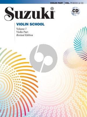 Suzuki Violin School Vol.7 BK-CD (Violin Part) (Revised)