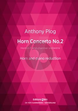 Plog Concerto No.2 Horn (F) and Chamber Orchestra (piano red.)