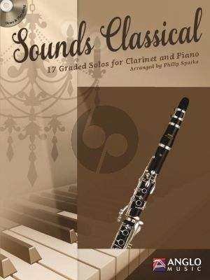 Sounds Classical (17 graded Solos) (Clarinet-Piano) (Bk-Cd) (transcr. by Philip Sparke)