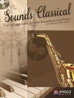Sounds Classical (17 graded Solos) (Alto Sax.-Piano) (Bk-Cd) (transcr. by Philip Sparke)