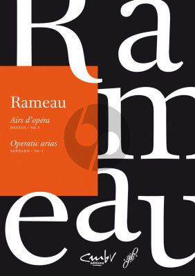 Rameau Airs d'Opera (Operatic Arias) Vol.1 Soprano