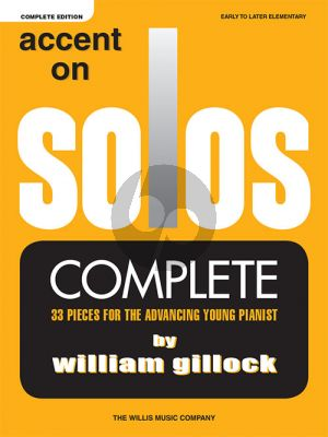 Gillock Accent on Solos (Complete) Piano solo