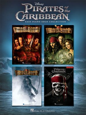 Pirates of the Caribbean Easy Piano Solo Collection