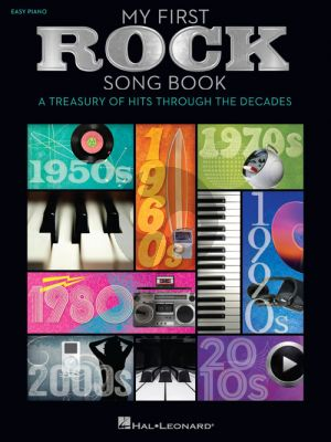 My First Rock Song Book Easy Piano