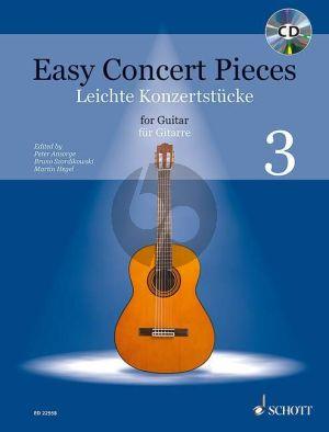 Easy Concert Pieces Vol.3 (Guitar) (Bk-Cd)
