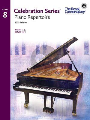 Celebration Series Piano Repertoire Vol.8 Book with Audio online