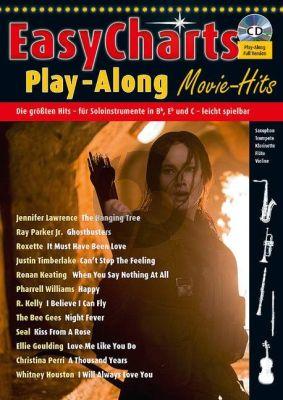 Easy Charts Play-Along Movie Hits (all C.-Bb-Eb. Instr.) (Bk-Cd) (arr. Uwe Bye)