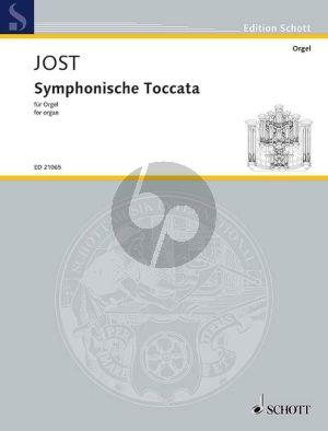 Jost Symphonische Toccata Organ