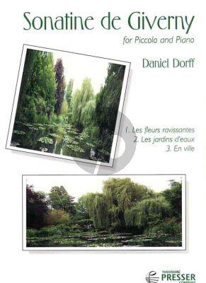 Dorff Sonatine De Giverny for Piccolo and Piano