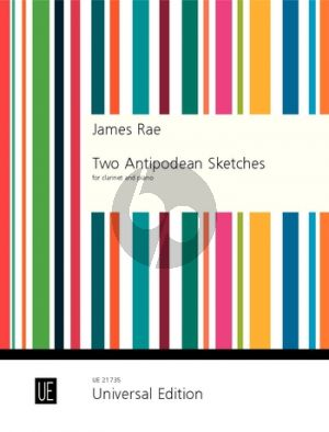 Rae Two Antipodean Sketches for Clarinet and Piano