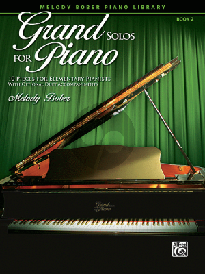 Bober Grand Solos for Piano Vol.2 (10 Pieces for Elementary Pianists with Optional Duet Accompaniments)
