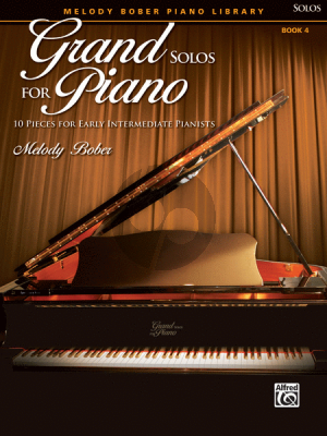 Bober Grand Solos for Piano Vol.4 (10 Pieces for Early Intermediate Pianists)