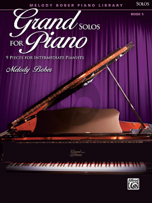 Bober Grand Solos for Piano Vol.5 (9 Pieces for Intermediate Pianists)