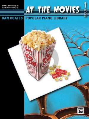 At the Movies Vol.1 (Dan Coates Popular Piano Library)