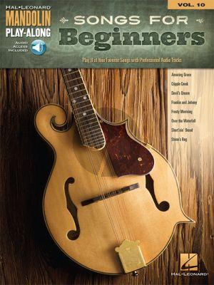 Songs for Beginners (Mandolin Play-Along Series Vol.10) (Book with Audio online)