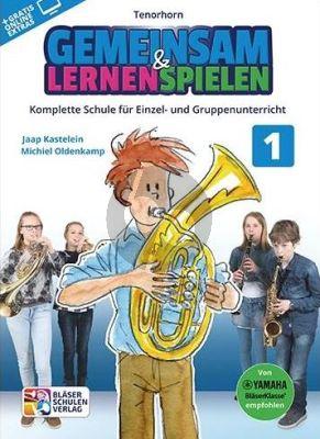 Kastelein-Oldenkamp Gemeinsam Lernen & Spielen 1 Tenorhorn