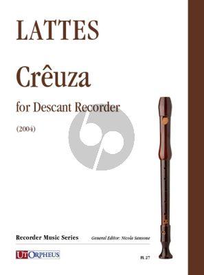 Lattes Crêuza for Descant Recorder (2004)