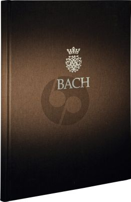 6 Suites BWV 1007 - 1012 for Violoncello solo 2 Volumes in Hardcover