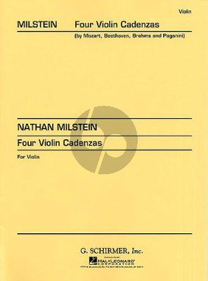 Milstein 4 Violin Cadenzas