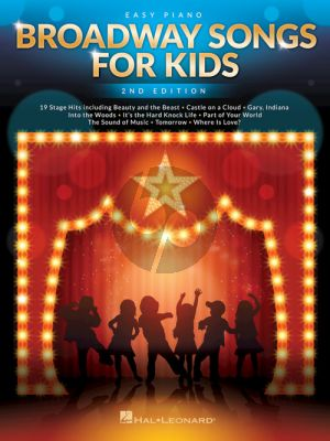Broadway Songs for Kids Easy Piano (2nd. ed.)