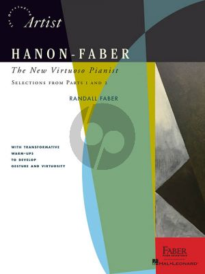 Hanon-Faber: The New Virtuoso Pianist (Selections from parts 1 and 2) (edited by Randall Faber)