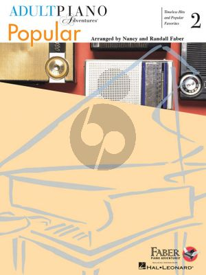 Faber Adult Piano Adventures Popular Book 2 Piano solo