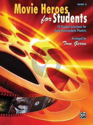 Gerou Movie Heroes for Students Vol.2 Piano