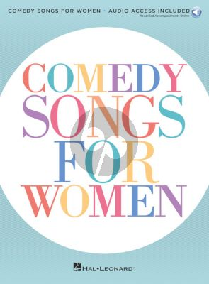 Comedy Songs for Women (Book with Audio online)