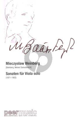 Weinberg Sonaten Viola Solo