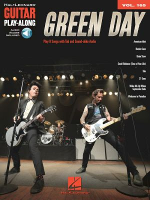 Green Day 8 Hits (Guitar Play-Along Series Vol.165) (Book with Audio online)