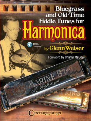 Bluegrass and Old-Time Fiddle Tunes for Harmonica (Book with Audio online) (edited by Glenn Weiser)