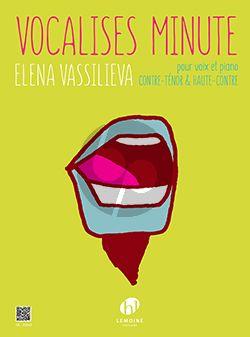 Vassilieva Vocalises minute Voix(contre-ténor ou haute-contre)-Piano
