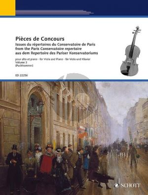 Pièces de Concours from the Paris Conservatoire Repertoire Vol.3 Viola-Piano (edited by Jutta Puchhammer)