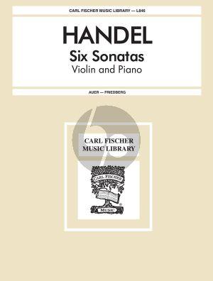 6 Sonatas (Auer-Friedberg)