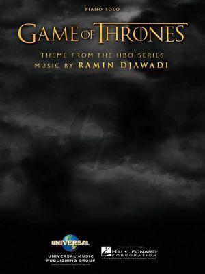 Djawadi Game of Thrones (Theme) Piano solo