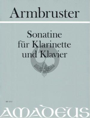 Armbruster Sonatine Klarinette-Klavier (ed. Yvonne Morgan)