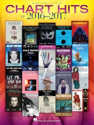 Chart Hits of 2016-2017 Piano-Vocal-Guitar