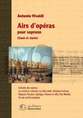 Vivaldi Airs d'Opera Soprano (Chant-Piano)