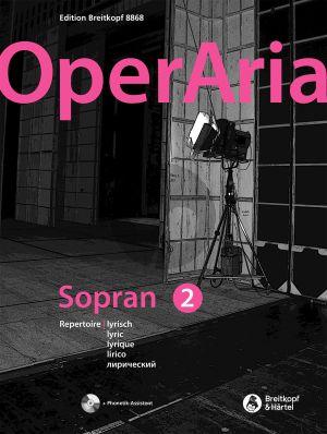 OperAria Soprano Vol.2 Lyric-Coloratura (Bk-Cd) (edited by Peter Anton Ling and Marina Sandel)