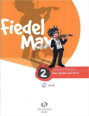 Holzer-Rhomberg Fiedel-Max 2 Grosse Auftritt Violine (Buch-Cd)