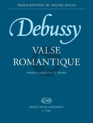 Debussy Valse Romantique Clarinet[Bb]-Piano (arr. Zoltan Kocsis)