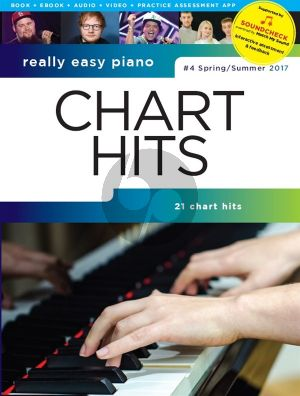 Really Easy Piano: Chart Hits - #4 Spring/Summer 2017 (Book with Audio online)